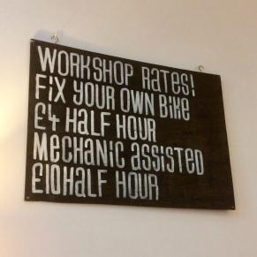 Workshop rates
