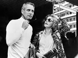Paul Newman and Joanne Woodward