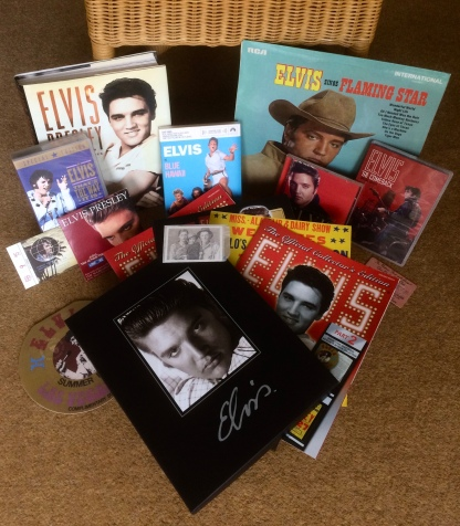 My collection of Elvis memorabilia