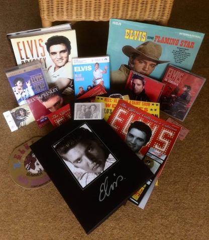 My collection of Elvis memorabilia