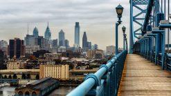 The Philadelphia skyline