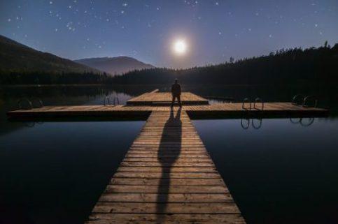A Moon Shadow