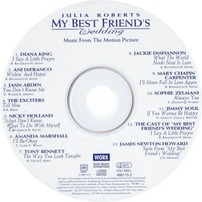 BSO_La_Boda_De_Mi_Mejor_Amigo_(My_Best_Friend_s_Wedding)--CD