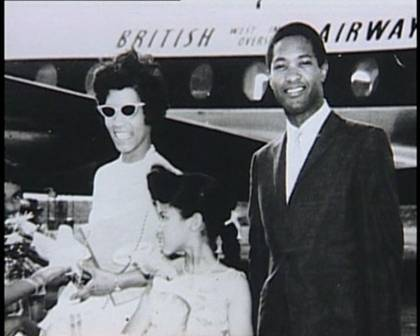 Sam Cooke and family