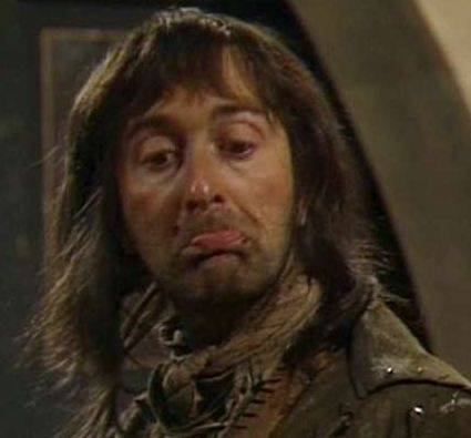The kitchen boy Baldrick