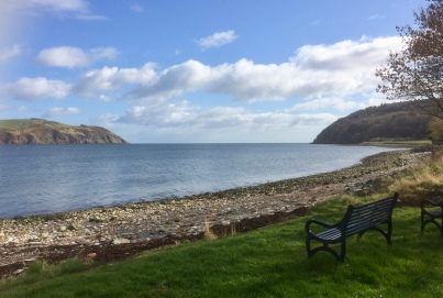 The Sutars of Cromarty (Cobblers to you and I) - The story is that two giant shoemakers used the cliffs as workbenches, and tossed their tools to and fro.