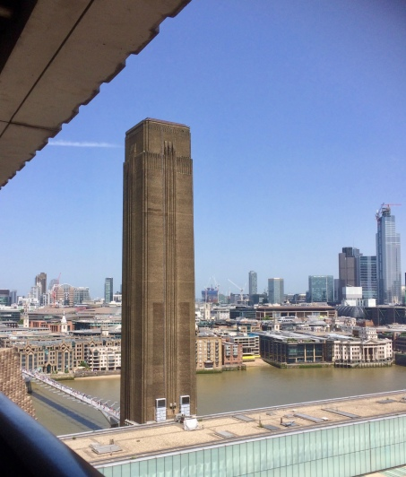 View from the Tate Modern viewing platform
