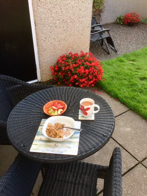 Breakfast al fresco