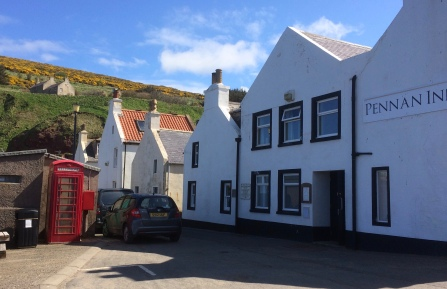 The Pennan Inn - Gordon's hotel in the film