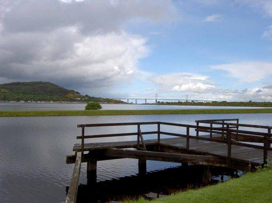 View of the Kessock Bridge