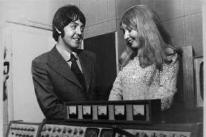 Mary with Paul McCartney