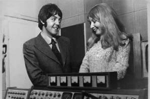 Mary with Paul McCartney